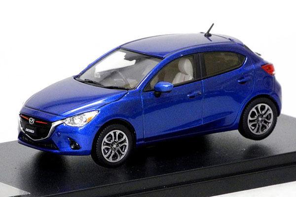 Hi-Story HS107BL MAZDA 1 43 Demio XD Touring 2014 Dynamic Bleu Mica