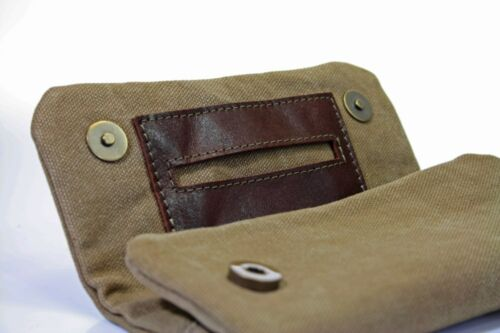 """MESTANGO /""""ROLL YOUR OWN/"""" TOBACCO POUCH ME 1001-4 ** NEW **"""