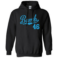 Bomb 46 Script & Tail Hoodie - Hooded 1946 Lowrider Bomba Sweatshirt All Colors