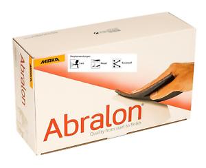 20 x Mirka Abralon Pads Schleifpads Schleifmittel 115x140 mm P500