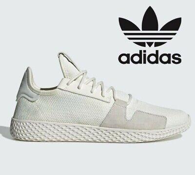 Adidas Originals Pharrell Williams Tennis PW Hu V2 ® (Men UK: 7 12 ) Off White   eBay