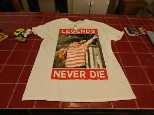 Sandlot Legends Men/'s White T-shirt NEW Sizes S-2XL