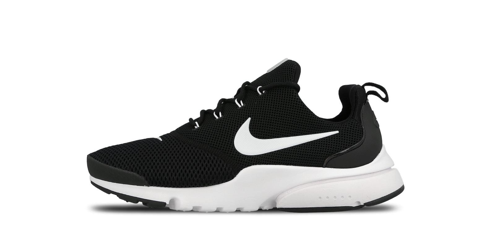 Men's Nike Presto Fly 908019 002 Black White-Black Light shoes Running SZ 7-13