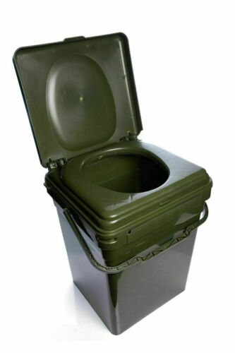 New-RidgeMonkey-Ridge-Monkey-Cozee-Toilet-Seat-Modular-Bucket-XL-Full-Kit