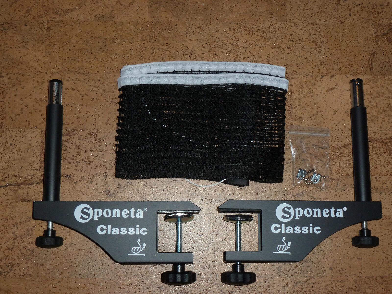 Orginal Orginal Orginal Sponeta Tischtennisnetz Classic mit Halterung Tischtennis Netz  | Sale  | Schöne Farbe  | Qualität Produkte  57a9dd
