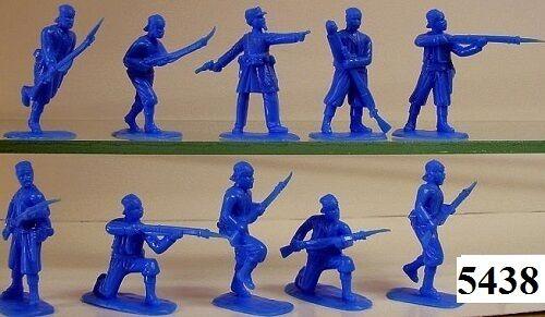 Armies in plastic 5438-US guerre civile 76th Pennsylvania figures-wargaming Kit