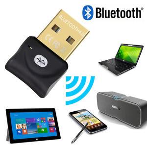 Mini USB Bluetooth V4.0 20M 3Mbps Dongle Dual Mode Wireless Adapter Device
