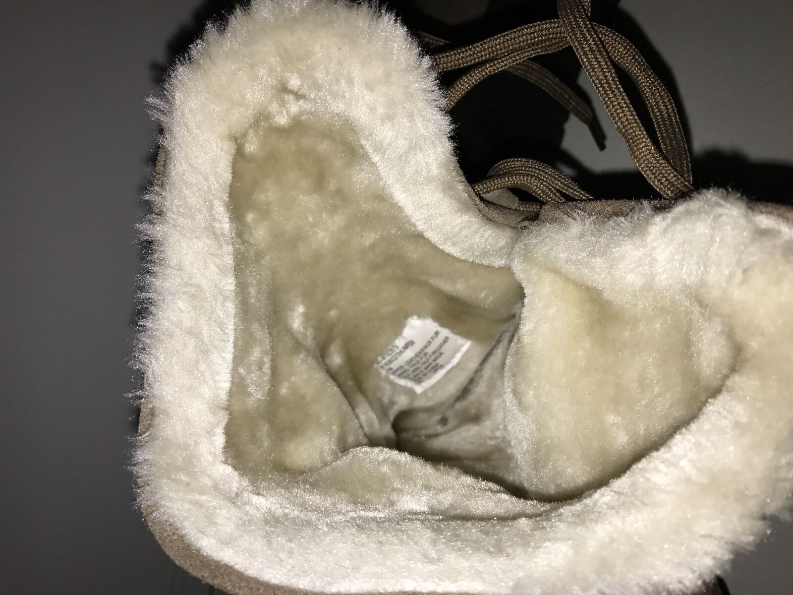 NIB99 WEISS Mountain THUMPER Taupe Suede Weather Smart Mid-Calf Pull-on Stiefel 8