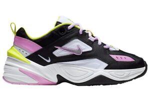 El respeto Cerdito Pensar en el futuro  Nike M2K Tekno Negro/Rosa CI5772 001 Correr Informal Tenis Para Mujer Talla  7.5 | eBay