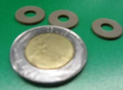 """No 20 Pcs PEEK Round Washer .510/"""" OD x .220/"""" ID 10 Screw Size"""