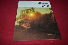 Fiat Allis Chalmers 21-C Crawler Tractor Dozer Dealer's Brochure BWPA ver6