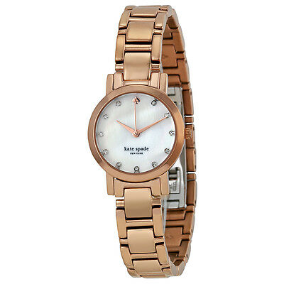 Kate Spade Gramercy Mini Mother of Pearl Dial Rose Gold-plated Steel Ladies