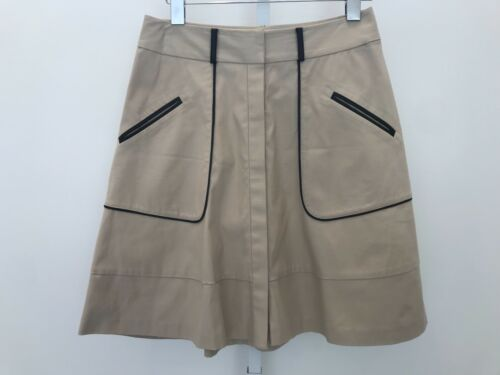 Cotton Steffe Black Piping And 4 Nwots Cynthia Tan Spandex Skirt Size gqHxgEd