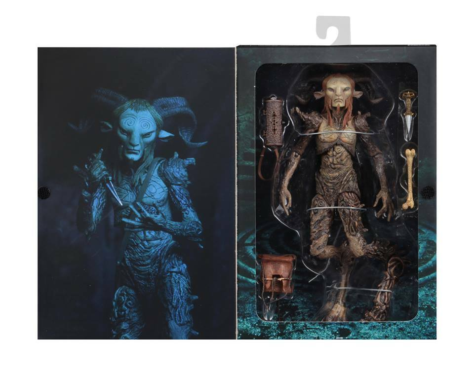 NECA GDT SIGNATURE COLLECTION FAUN 9  figure (Pan's Labyrinth) - PREORDER