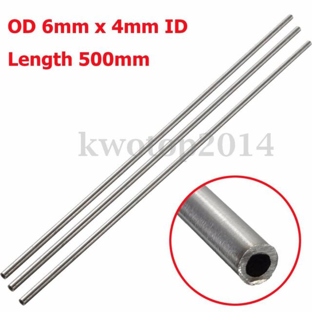 1pc 304 Stainless Steel Capillary Tube OD 6mm x 5.4mm ID Length 500mm GY