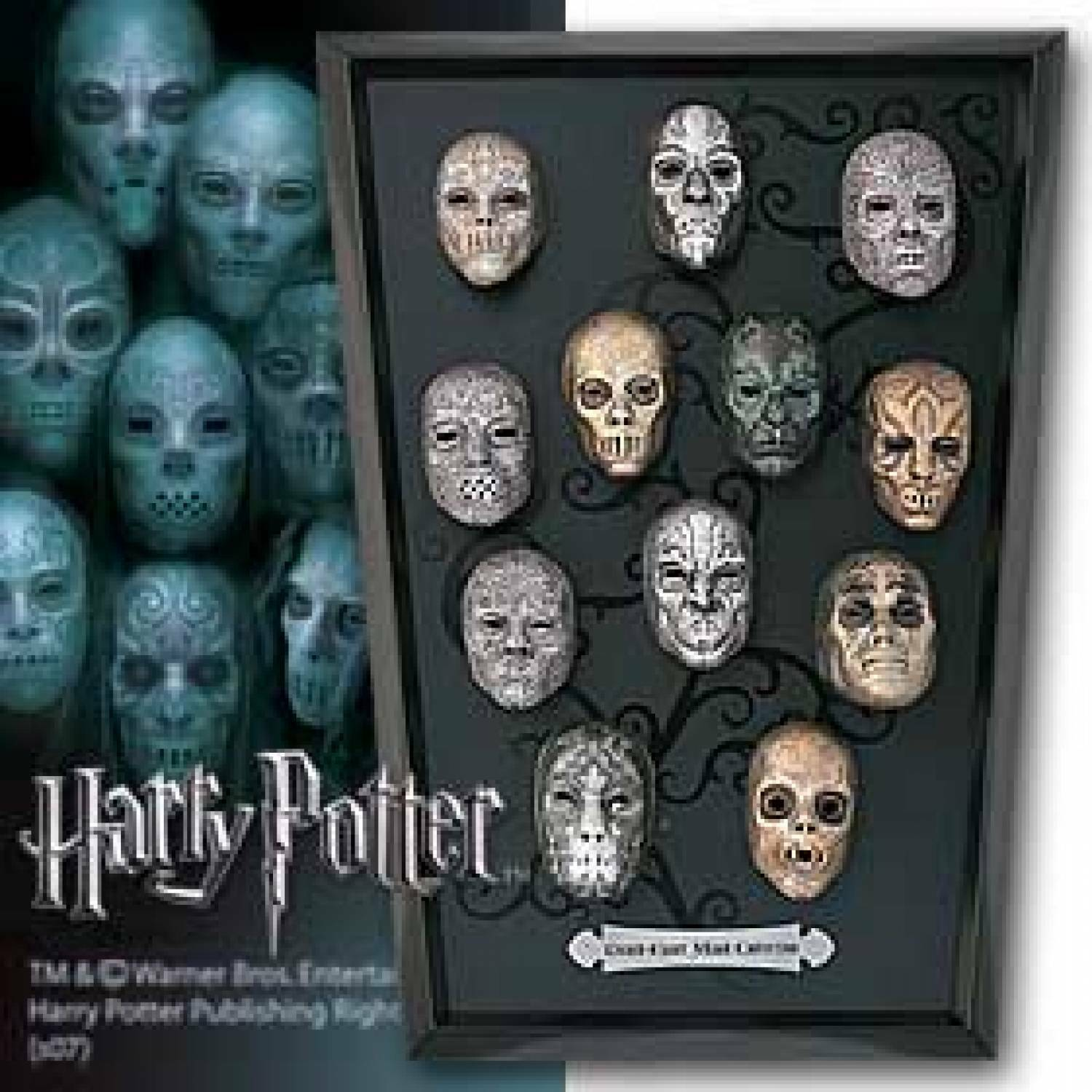 HARRY POTTER - Death Eater Collection Mask Maschere Noble Collection