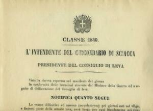 Sciacca-1861-Regno-d-Italia