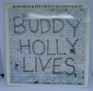 Buddy-Holly-lives-Buddy-Holly-and-the-crickets-20-golden-greats-vinyl-LP