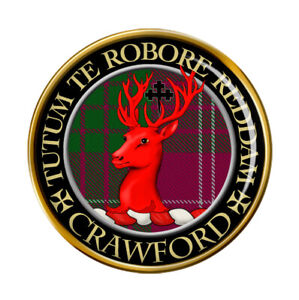 Crawford-Clan-Ecossais-Broche-Badge