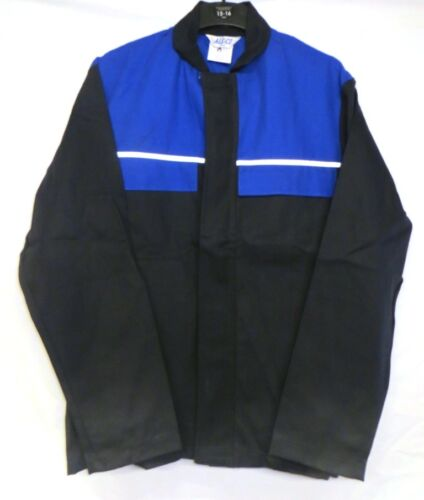 FLAMESAFE PROBAN JACKET WITH HI-VIS STRIP BY ALSICO.CHOICE OF SIZES.