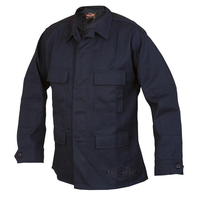 Tru-Spec Dark Navy BDU Coats 60 40 Cotton Poly Twill