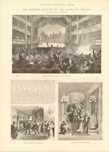 1893 ANTIQUE PRINT  DYNAMITE OUTRAGE AT THE BARCELONA THEATRE - Holmfirth, United Kingdom - Returns accepted Most purchases from business sellers are protected by the Consumer Contract Regulations 2013 which give you the right to cancel the purchase within 14 days after the day you receive the item. Find out more abou - Holmfirth, United Kingdom