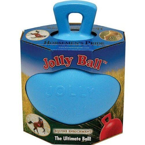 HORSEMEN'S PRIDE JOLLY BALL FOR HORSES  A TOY TO RELIEVE BOREDOM & STRESS  outlet online store