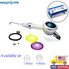 Easyinsmile Dental Air Flow Teeth Polishing Handpiece Hygienist Prophy 2amp4 Holes