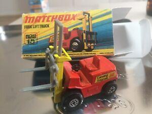 Matchbox-superfast-mit-Retro-Verpackung-Nr-15-Altes-Spielzeug-Auto