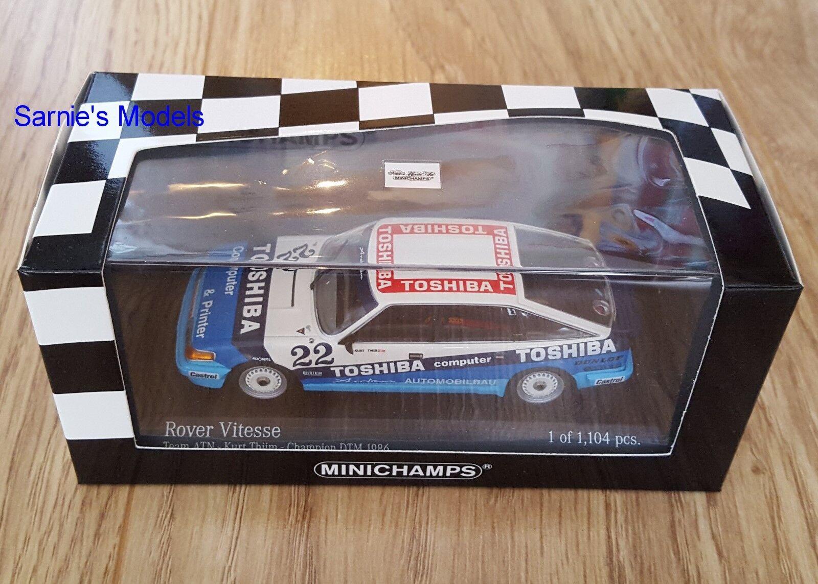 Minichamps-Rover SD1 Vitesse, Kurt Thiim Dtm Champion 1986, 1of1104 - 1 43 NEUF