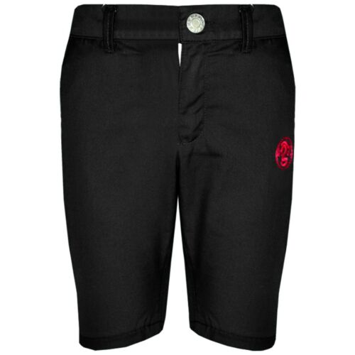 Kids Boys Shorts Black Chino Shorts Summer Knee Length Half Pant New Age 2-13 Yr