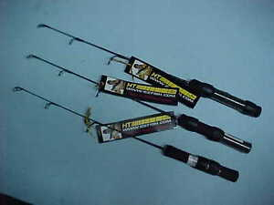 3 new ht shanti stix ice fishing rods 18 light action for Ht ice fishing