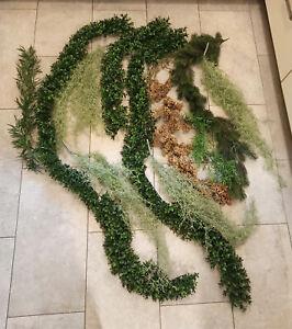 Konvolut-Ranken-Kunstblumen-Textilblumen-Dekoblumen-kuenstliche-Blumen-13-St