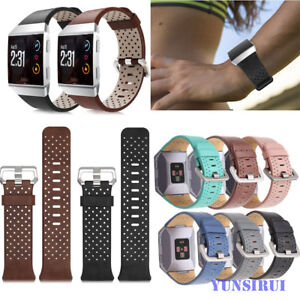 For-Fitbit-Ionic-Watch-Band-Strap-Genuine-Leather-Bracelet-Replacement-Bracelet