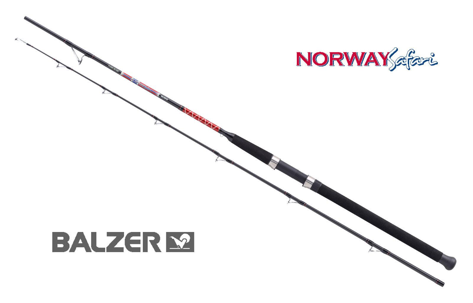 BALZER NORWAY Safari Flexo Jig 220- WG 55-220g  2,15 2,45 2,75m Pilkrute Jigrute