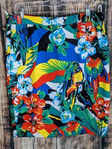 Escada Margaretha Ley Tropical Parrot Floral Penci