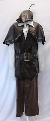 Alexanders Costumes Men/'s Knee Length Victorian Cloak MM1 Black One Size