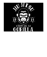 Brazilian Jiu-Jitsu Hanging Wall Flag BJJ Scroll Banner Dojo MMA Gracie Barra