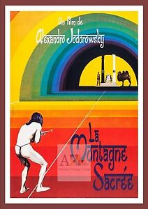 Details about The Holy Mountain 2 Psychedelic Movie Posters Classic Vintage  Cinema