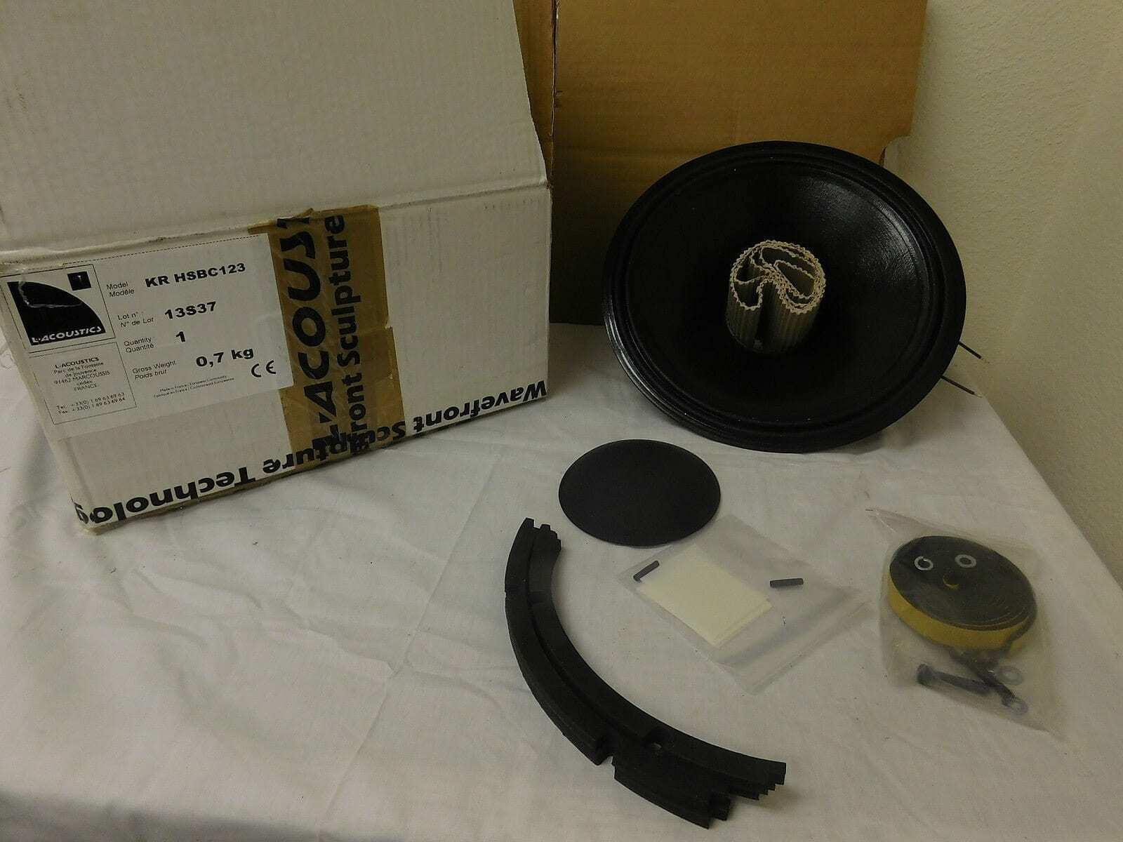 L'Acoustics KR HSBC123 Driver Cone Replacement Kit