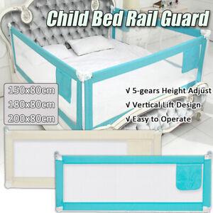 Baby-Guard-Bed-Rail-Toddler-Safety-Adjustable-Kids-Infant-Bed-Universal-71-79-039-039