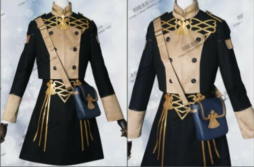 Fire Emblem Three Houses Edelgard Fancy Battle Stage Girls Cosplay Costume