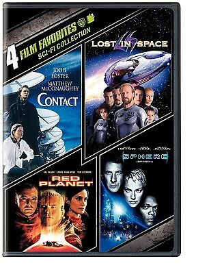 CONTACT LOST IN SPACE RED PLANET SPHERE JODIE FOSTER VAL KILMER DUSTIN HOFFMAN