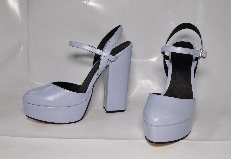 Sconto del 70% a buon mercato Asos  Prosper  Lt. blu hi-heel chunky chunky chunky sandals - Dimensione 11, w  6.25  heel - New  il più alla moda