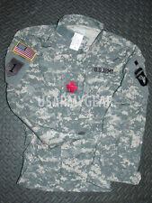 BRAND NEW *Made in USA ARMY ACU DIGITAL MILITARY SHIRT COMBAT UNIFORM MEDIUM M/R