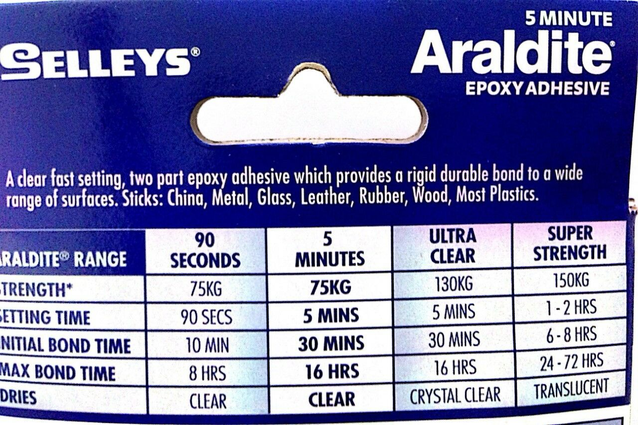 Buy Cheap Selleys 14ml Araldite 90 Seconds Self Mixing Business & Industrial