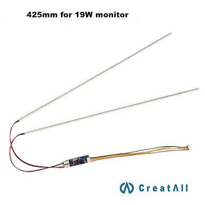 425mm LED backlight strip kit,Update your 19inch ccfl lcd screen to led monitor