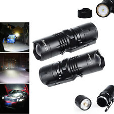 U`King 3000LM CREE XPG LED Flashlight Zoom Magnetic Torch Light Climbing Lamp