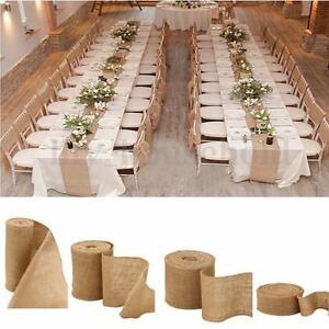 10m Jute Band Tischband Natur Hochzeit Vintage Tischlaufer Hochzeit