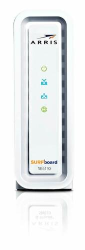 ARRIS Surfboard SB6190-RB DOCSIS 3.0 Cable Modem Certified Refurbished White